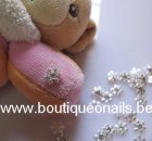 3D - FLOCON DE NEIGE SIMPLE STRASS