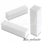 KIT BLOCS POLISSOIRS BLANCS - 10 pces