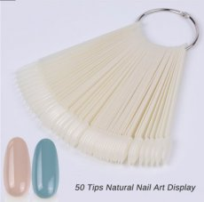 COLOR POPS NATUREL BOUT OVAL - 50 PCES